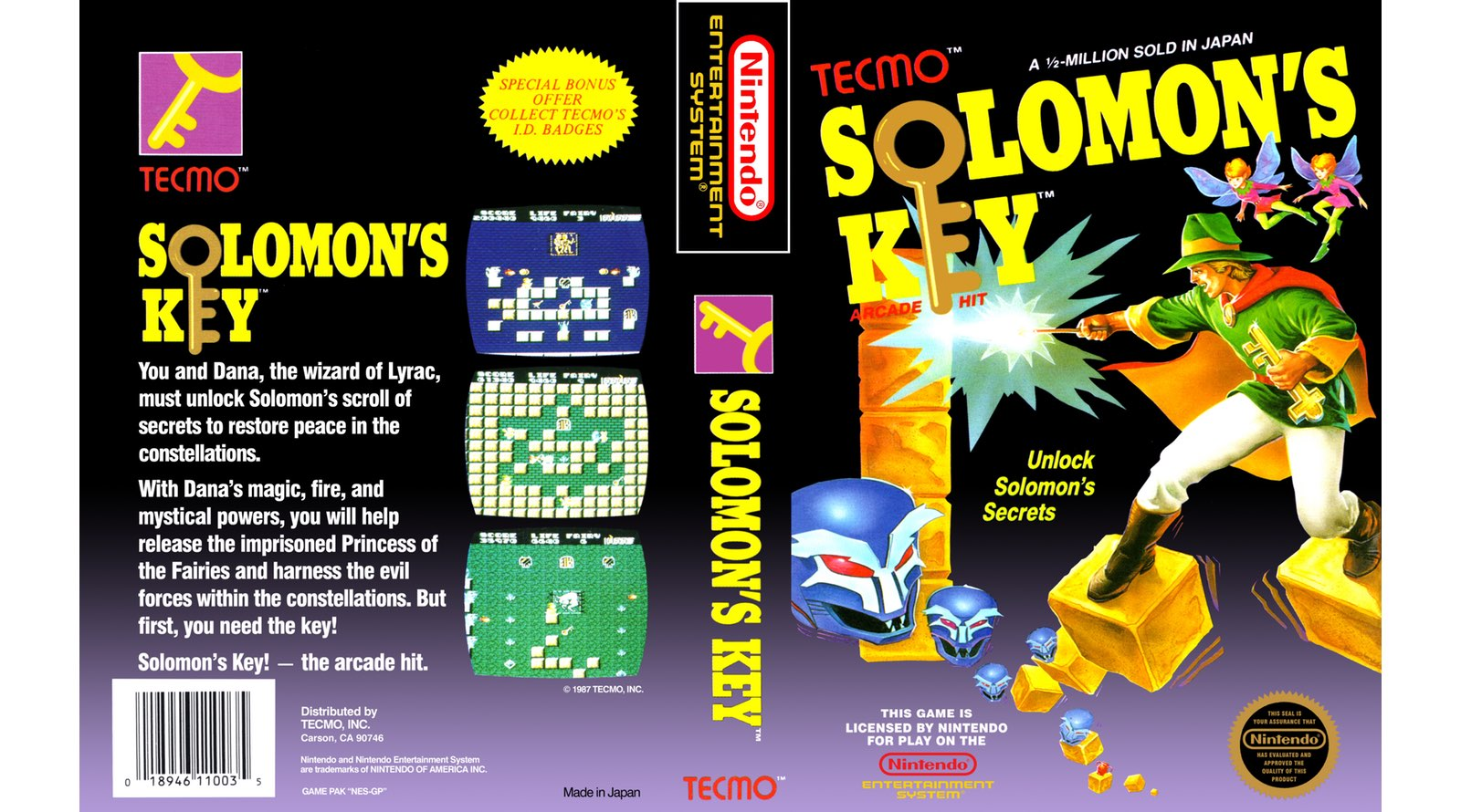 aa1d3593e96e Solomon s Key Review – Nintendo Times