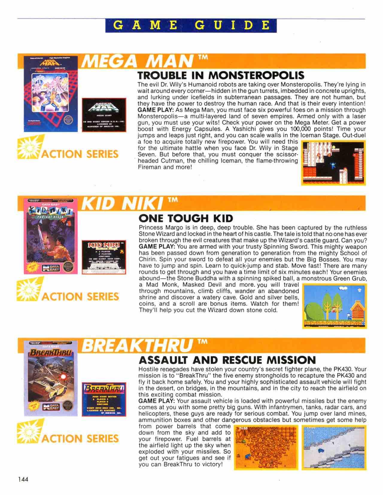 Official Nintendo Player's Guide Pg 144 – Nintendo Times