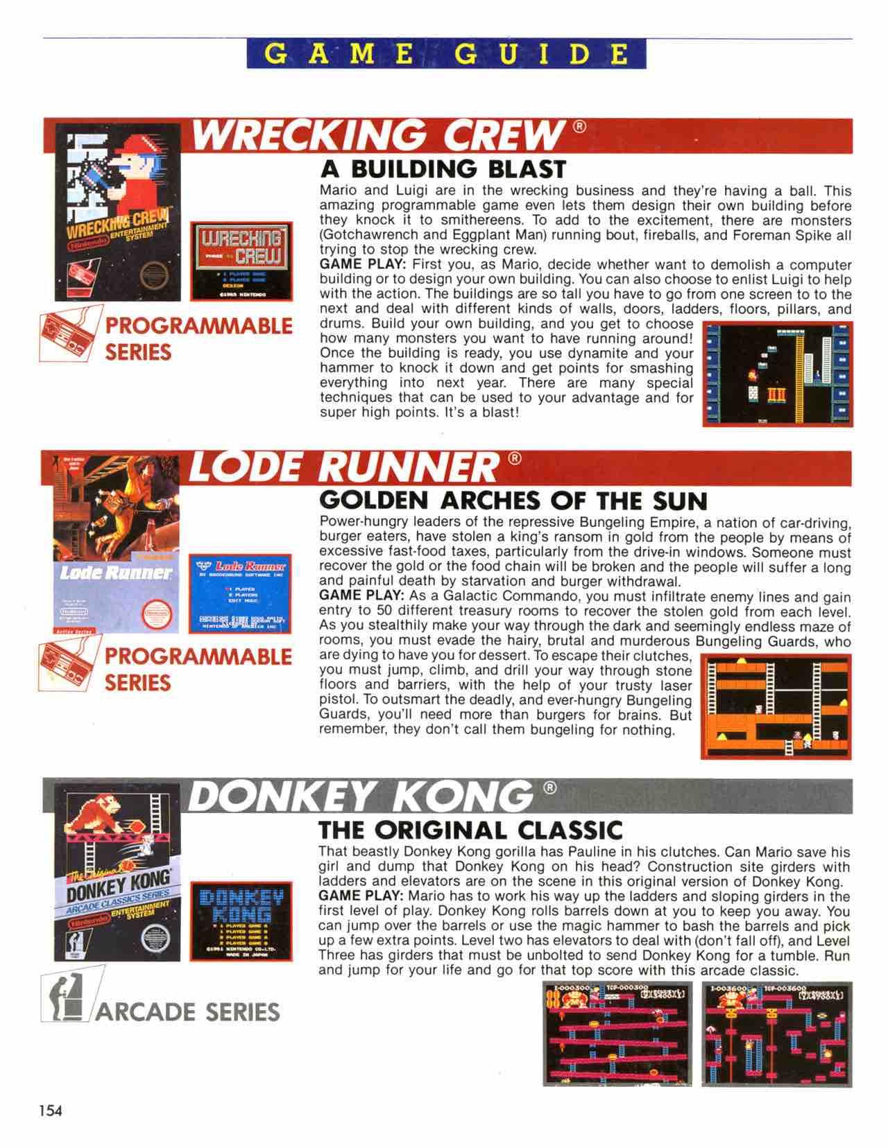 Official Nintendo Player's Guide Pg 154 – Nintendo Times