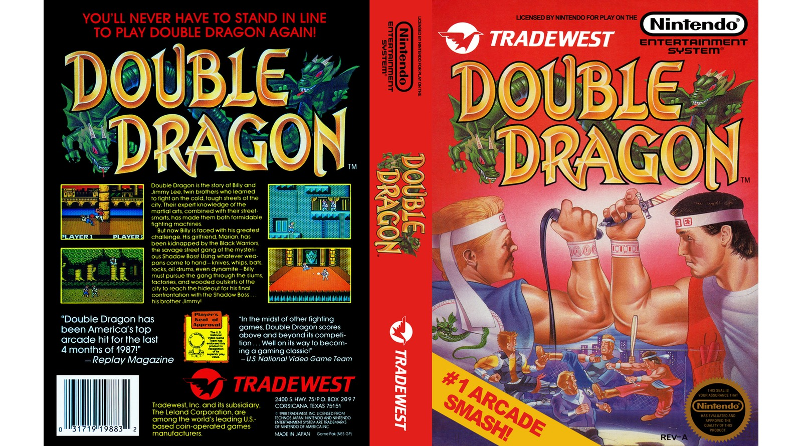 Double Dragon Review Nintendo Times