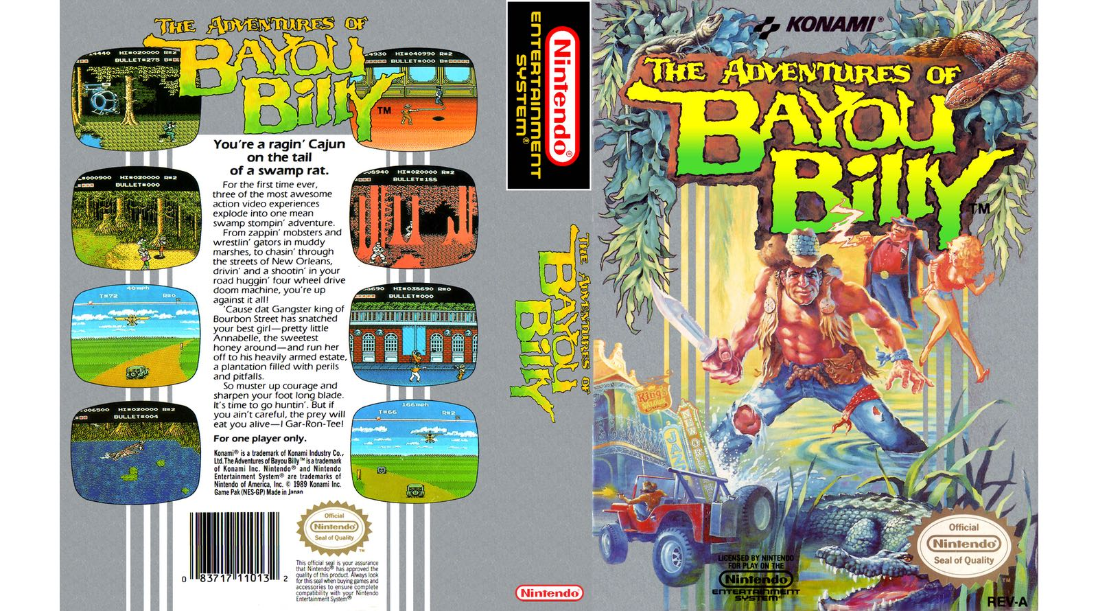 The Adventures Of Bayou Billy Review Nintendo Times