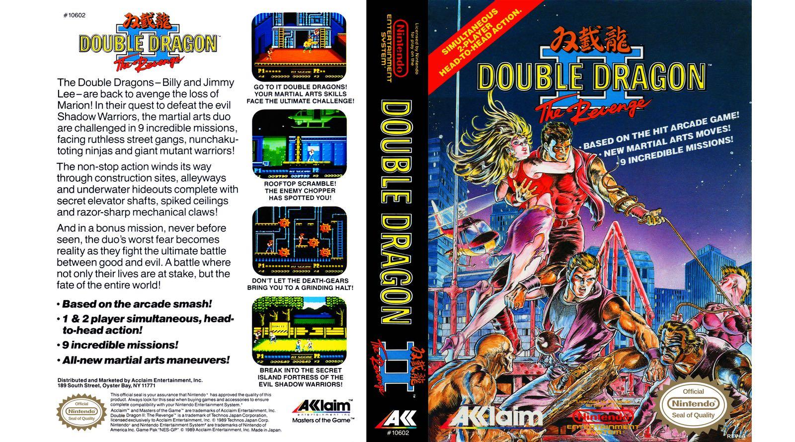 double dragon 2 arcade game